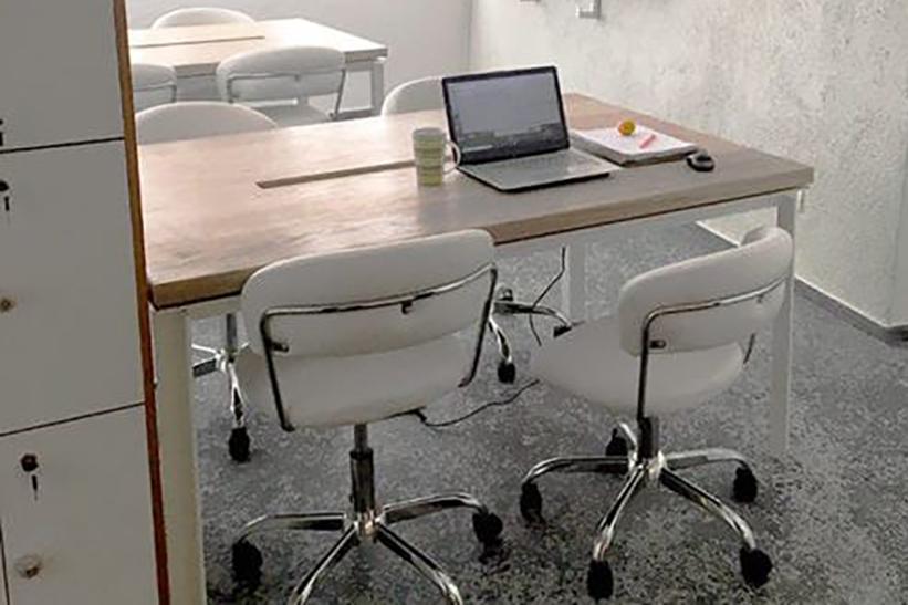 Временный стол